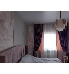 Шторы для спальни 12