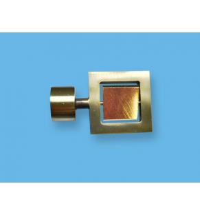 Двойной квадрат 16 антик-золото
